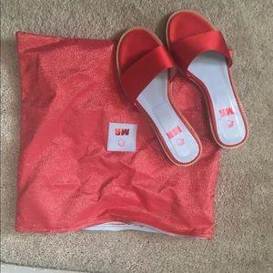 Slide Flat Sandals by MR by Man Repeller